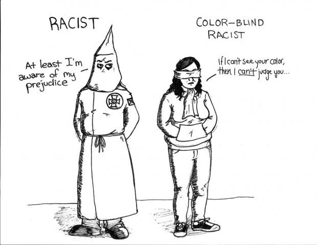 racism then vs now