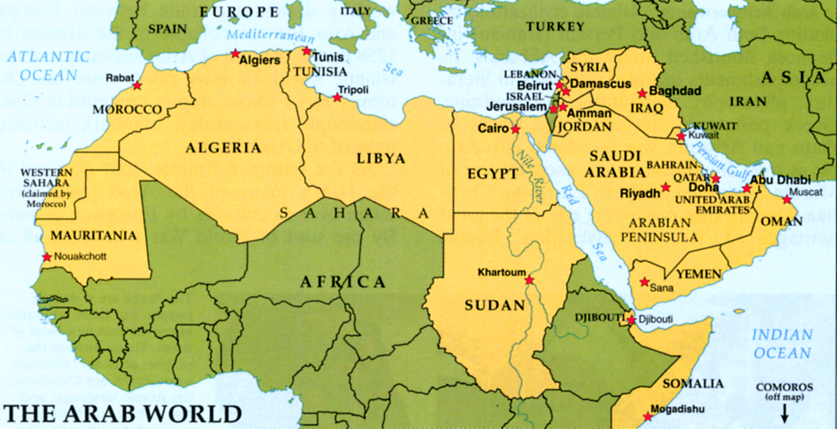 No Arab Bolivars As Region Implodes Arab Socialism Fizzles Out - What continent is syria in