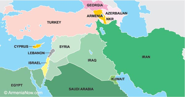 map of armenia and turkey Untangling The Truth From The Myth Of The Armenian Genocide map of armenia and turkey