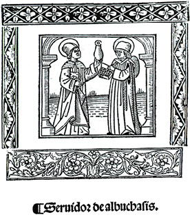 By the time this woodcut showing followers of Albucasis (as Al-Zahrawi was known in Latin) was produced in 1516 in Spain, his medical legacy was already more than 500 years old.