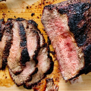 Barbecued Tri-Tip Roast or Steak