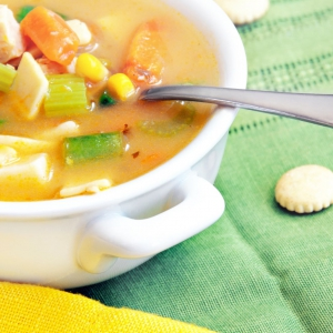 Chunky Chicken-Vegetable Soup