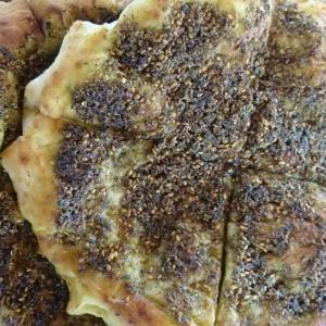 Seasoned Flat Tart (Manaqish)