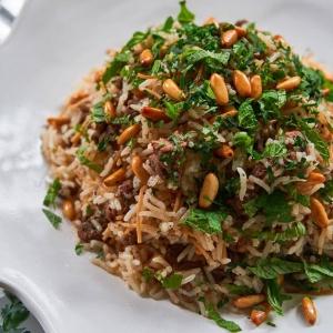Almond-Rice Stuffing