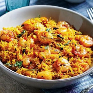 Biryani with Shrimp