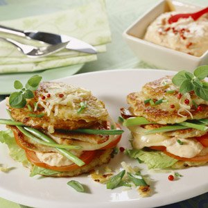 Chicken Potato Burgers