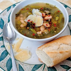 Escarole and Bean Stew (Scarola e Fagioli)
