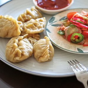 Steamed Dumplings with Meat and Butternut Squash(Pitir Manta)