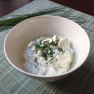 Greek yogurt dip (Tzatziki)