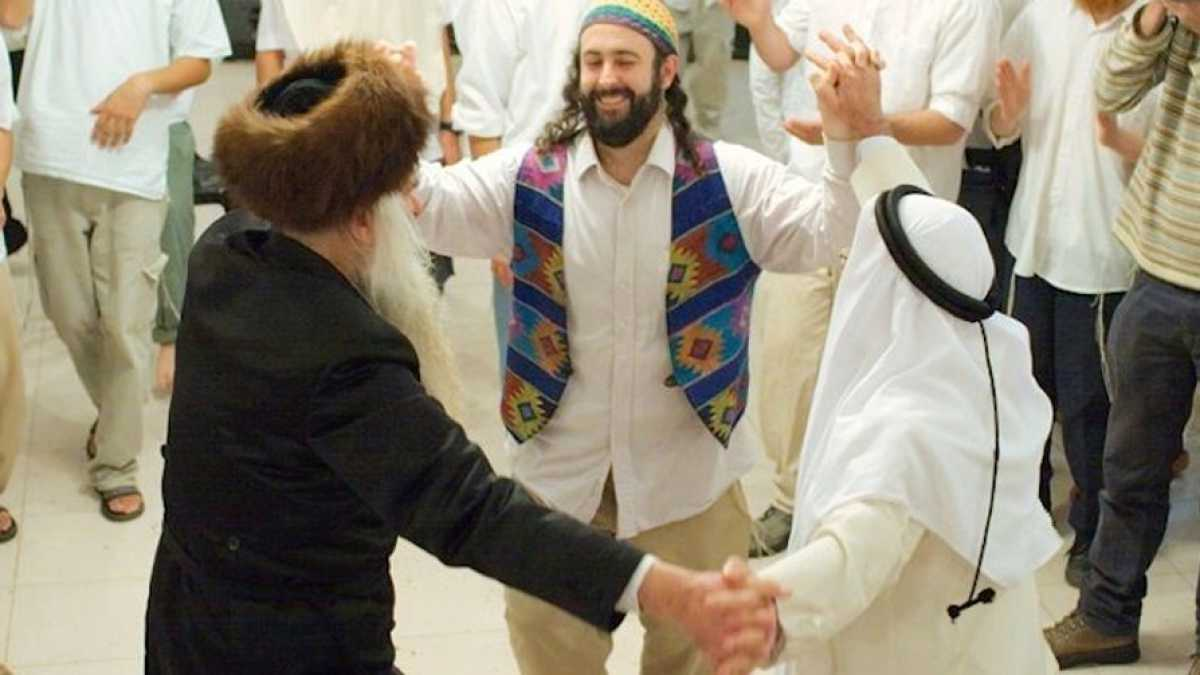 JEWS AND MUSLIMS as FRIENDS