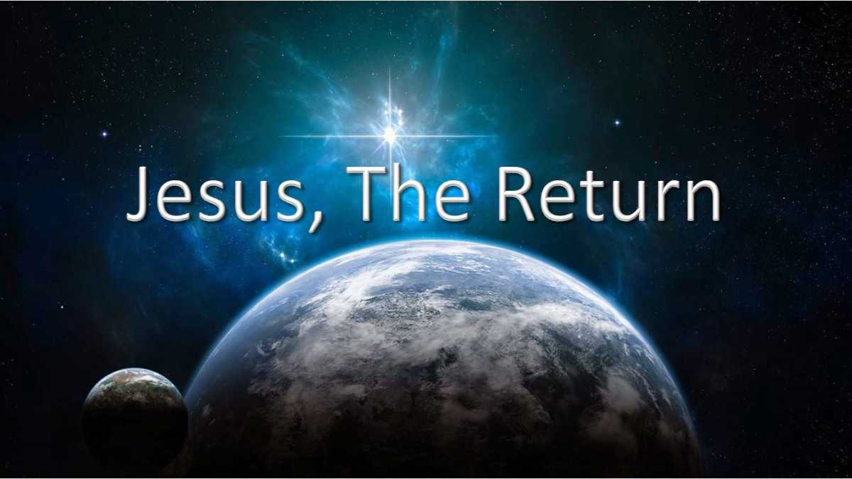 Image result for christ returns to earth