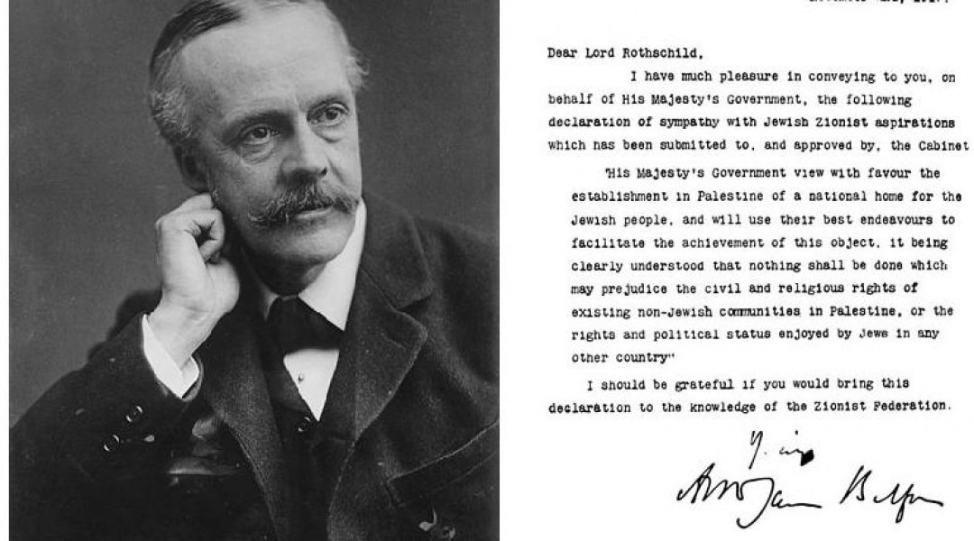 Image result for the balfour declaration images