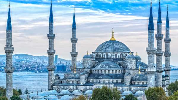 Image result for istanbul mosque blue