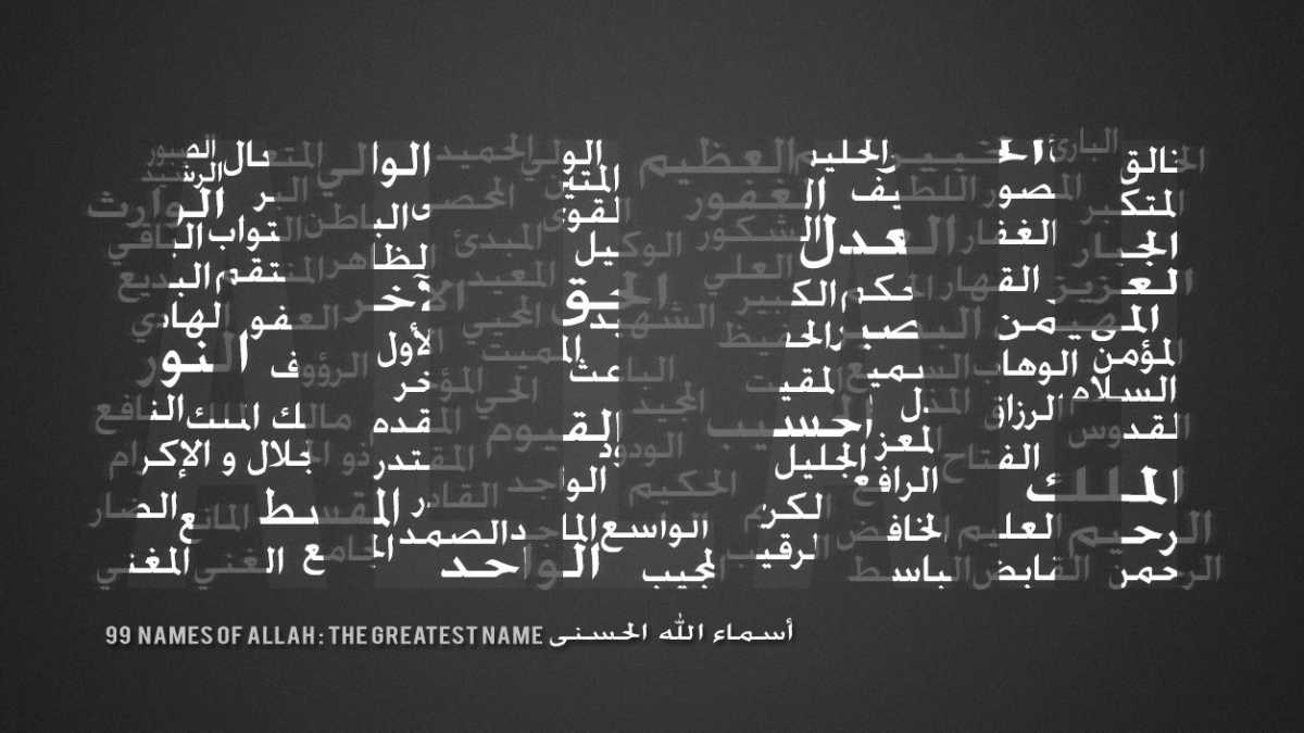99 Names of Allah (God) - IslamiCity