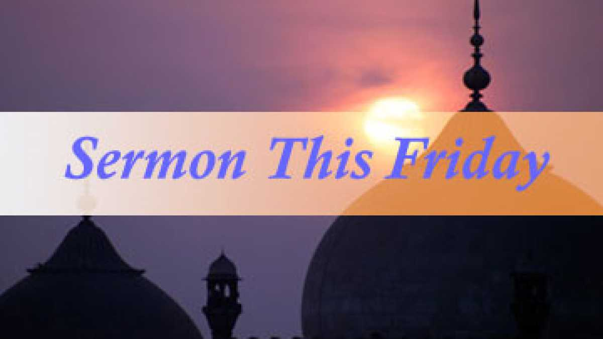 Friday Sermon: Bring Peace to Family - Shaikh Yassir Fazaga - IslamiCity