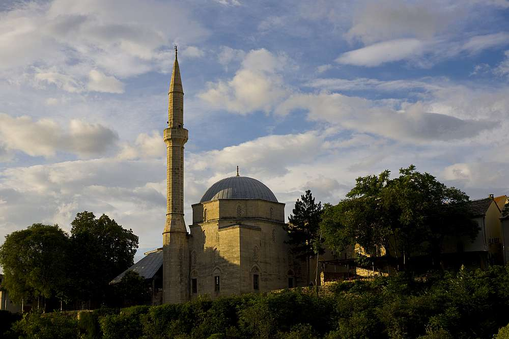 Mosque in Mostar - Bosnia