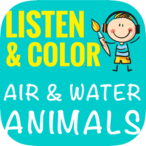 Listen & Color Air & Water Animals