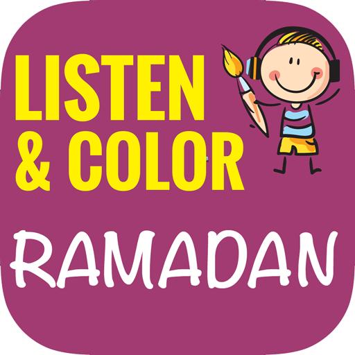 Listen & Color Ramadan